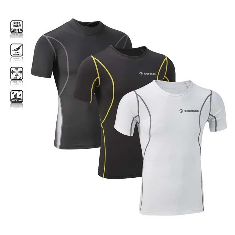 Tenn Outdoors Unisex Compression Base Layer - Short Sleeve