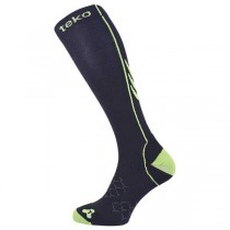 Teko Graduated Compression Socks - Black