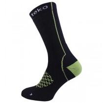Teko Merino Cycling Socks Lightweight Cushion Crew Height