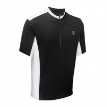 Tenn Outdoors Mens Coolflo Short/Sleeve Cycling Jersey - black