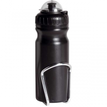 WIDE-NECK WATER BOTTLE & BOTTLE CAGE