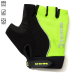 Tenn Outdoors Unisex Fusion Fingerless Cycling Gloves/Mitts - green