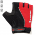 Tenn Outdoors Unisex Fusion Fingerless Cycling Gloves/Mitts - red